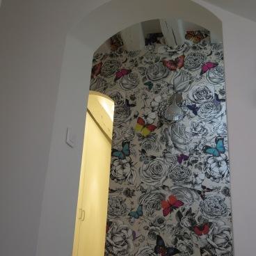 Détail d'un couloir