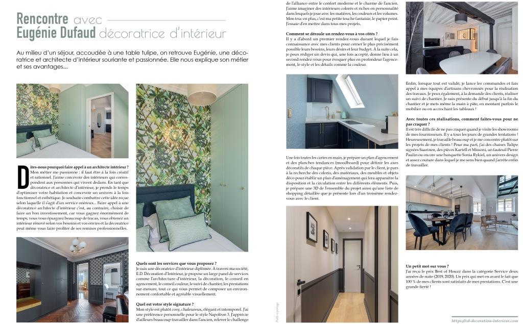 Interview Eugénie Dufaud Maison Et Jardin Magazine
